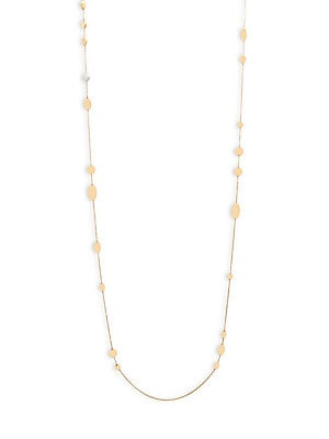 Click here for Diamond & 18K Yellow Gold Necklace prices