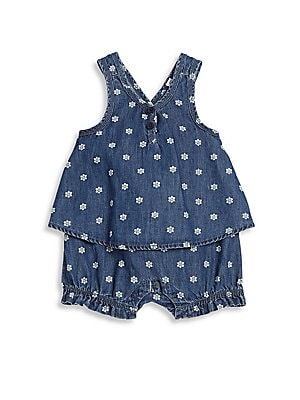 Baby's Denim Romper