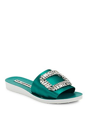 Mirah Embellished Slip-on Sandals