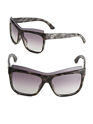 54MM Layered Square Sunglasses