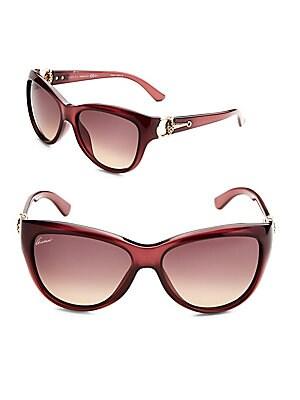 58MM Cat Eye Sunglasses