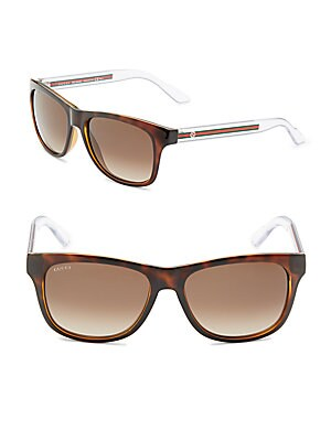 57MM Rectangle Sunglasses