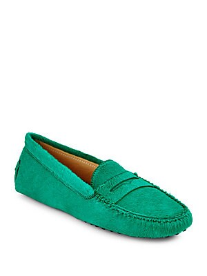 Gommini Calf Hair Moccasins