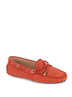 Lace-Up Leather Moccasins