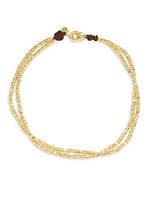 18K Gold & Sterling Silver Necklace