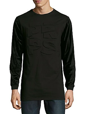 Velocity Long-Sleeve Cotton Tee