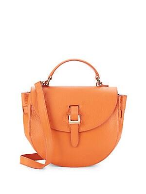 Ortensia Leather Mini Crossbody Bag