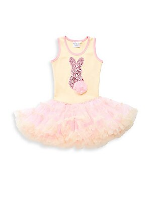 Baby's Bunny Sequined Dress