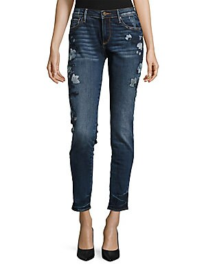 Marylin Floral Embroidered Jeans