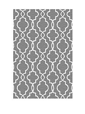 Glimmer Geometric-Print Rug