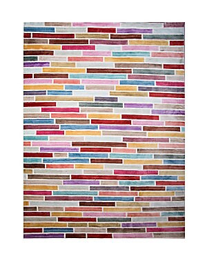 Marquee Multicolor Striped Rug