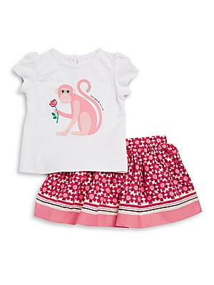 Baby's Two-Piece Tee and Skirt Set