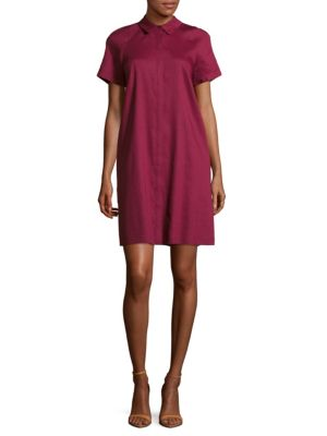 Shaylin Linen Shirtdress
