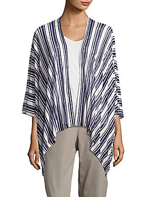 Striped Cover-Up