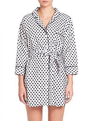 Swiss Dot Cotton Sleepshirt