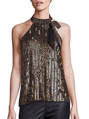 Theia Sequined Top