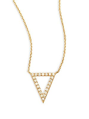 Click here for KC Designs Diamond & 14K Yellow Gold Triangle Neck... prices