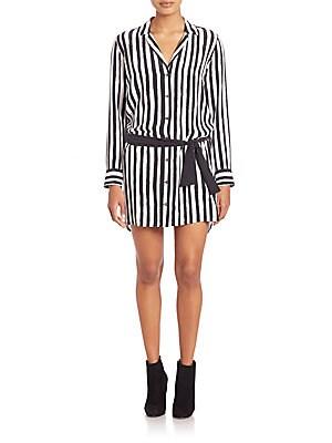 Kate Moss For Equipment Rosalind Striped Dress
