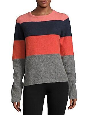 Calais Striped Colorblock Pullover