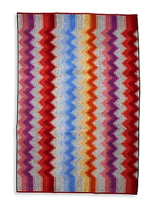 Chevron Cotton Bath Sheet