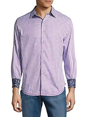 Casual Cotton Check Shirt