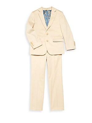 Little Boy's & Boy's Solid Suit