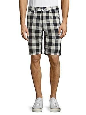 Garvan Windowpane Shorts