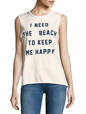 I Need The Beach Sleeveless Top