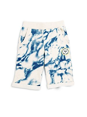 Boy's Printed Cotton Shorts