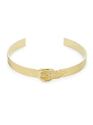 The Queens Buckle Choker Necklace