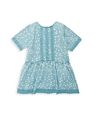 Little Girl's Mae Cotton Party Dress