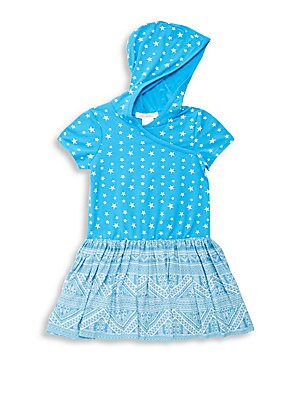 Little Girl's & Girl's Esmae Multi-Patterned Dress