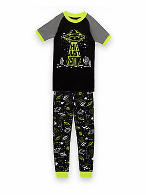 Boy's Space UFO Pajama Set