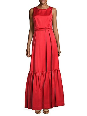 Back-Tie Sleeveless Gown