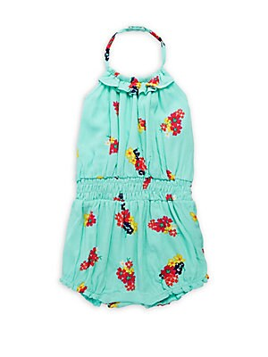 Baby's Floral Romper