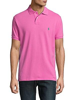 Custom-Fit Cotton Polo