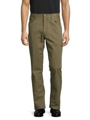 RALPH LAUREN Straight-Fit Solid Pants