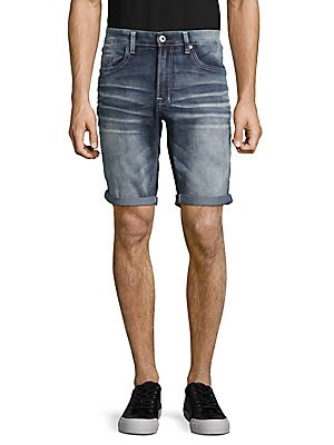 Whiskered Five-Pocket Shorts