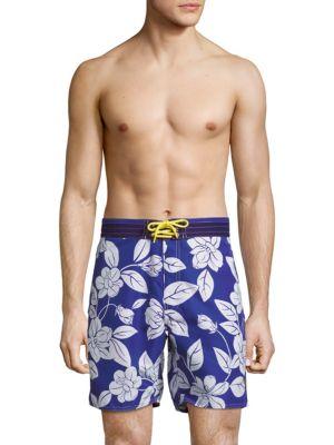 POLO RALPH LAUREN Floral-Print Swim Shorts