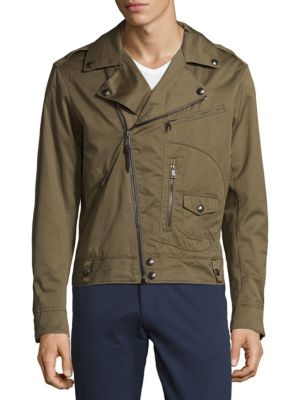 Asymmetric Zip Utility Jacket Polo Ralph Lauren