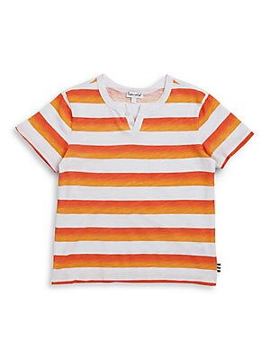 Toddler's & Little Boy's Striped Tee