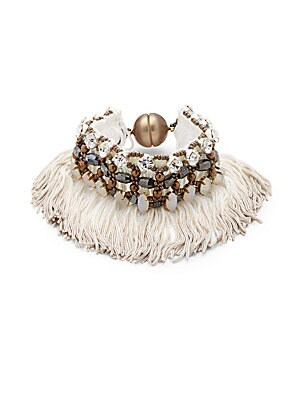 Click here for Fringed Bracelet prices