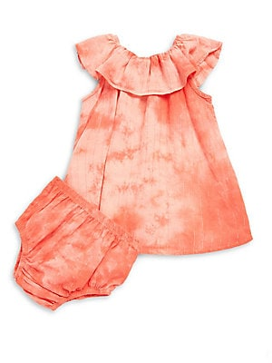 Baby's Tie-Dye Top and Bloomers Set