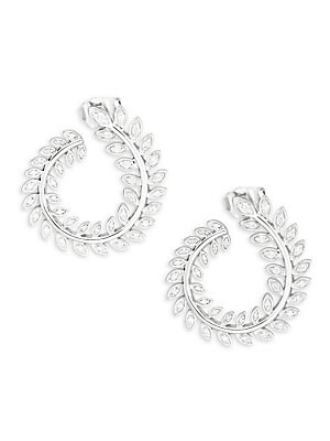 Click here for Diamond Leaf-Pattern Earrings prices