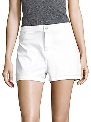 Mila High-Rise Denim Shorts