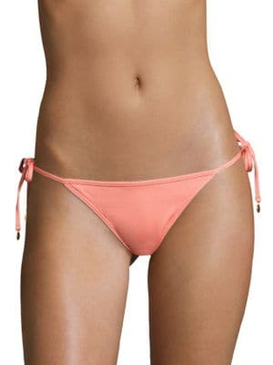 Solid Side-Tie Bikini Bottom Onda De Mar Swim