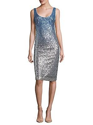 Sleeveless Shimmer Dress