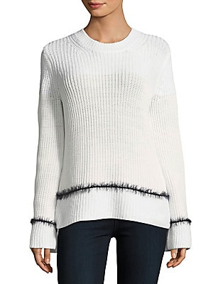 Striped Merino Wool-Blend Sweater