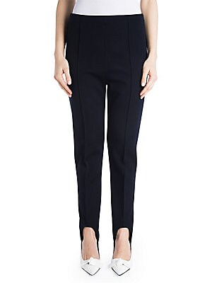 Wool Blend Stirrup Pants