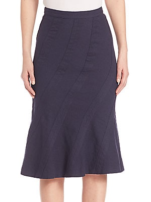 Jones Stretch Wool Skirt